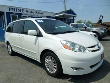 2007 Toyota Sienna for sale at Prime Auto Sales in Baltimore MD