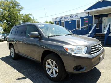 2010 Toyota Highlander for sale at Prime Auto Sales in Baltimore MD