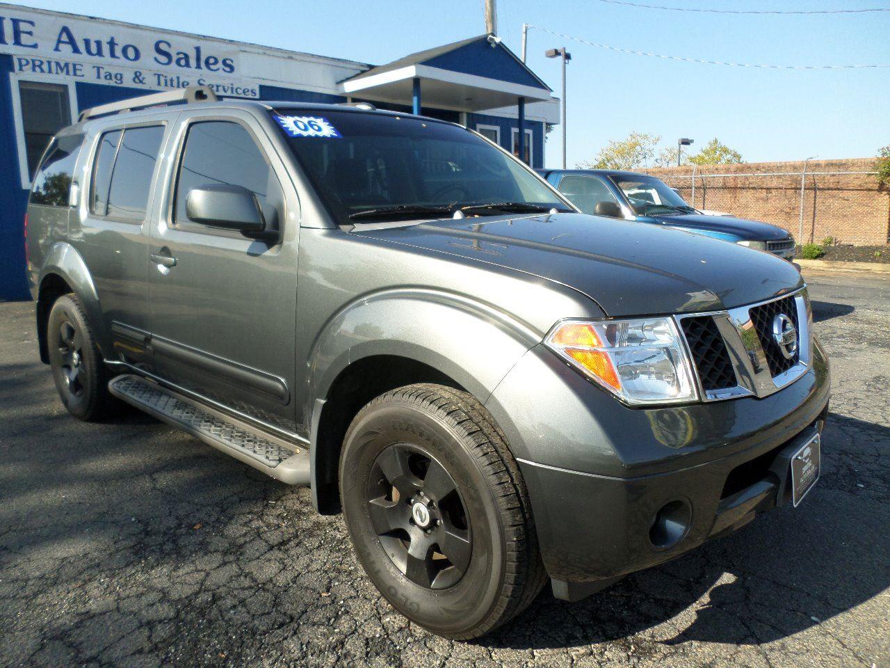 2006 Nissan Pathfinder SE In Baltimore MD - Prime Auto Sales
