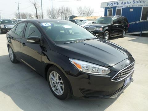 2015 Ford Focus for sale at Prime Auto Sales in Baltimore MD