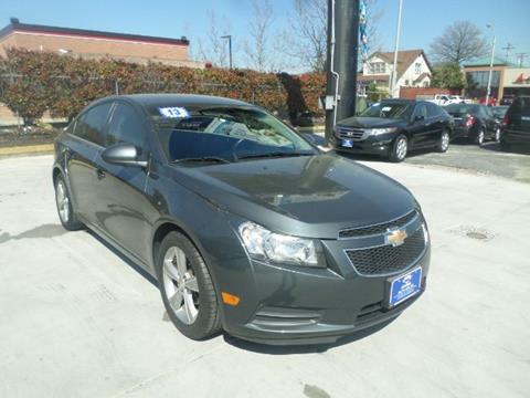 2013 Chevrolet Cruze for sale at Prime Auto Sales in Baltimore MD