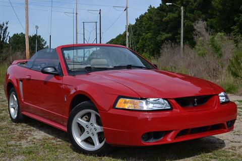 Ford Mustang SVT Cobra For Sale in North Carolina  Carsforsalecom