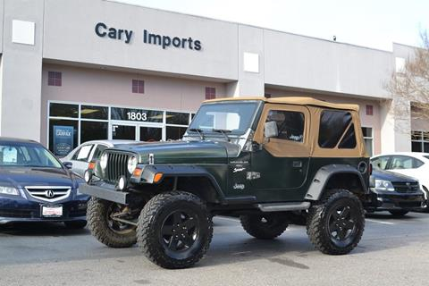 1997 Jeep Wrangler for sale in Cary, NC