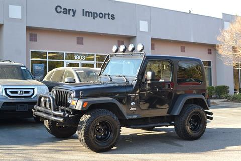 1998 Jeep Wrangler for sale in Cary, NC