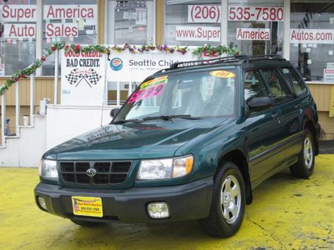 2000 Subaru Forester for sale in Seattle, WA