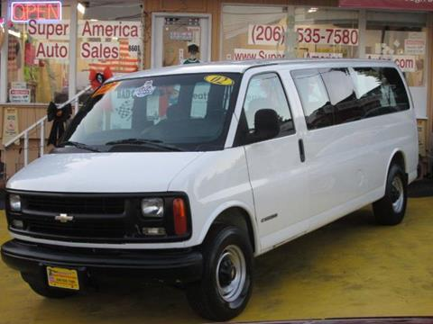 2002 Chevrolet Express Passenger for sale in Seattle, WA