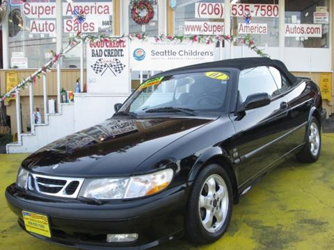 2001 Saab 9-3 for sale in Seattle, WA