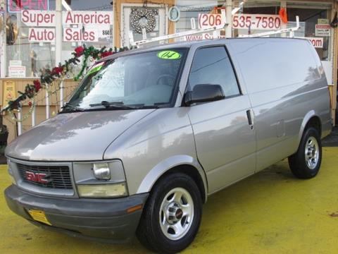 2004 GMC Safari Cargo for sale in Seattle, WA