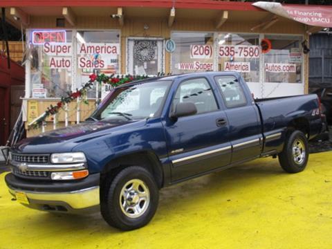 2001 Chevrolet Silverado 1500 For Sale Carsforsale Com