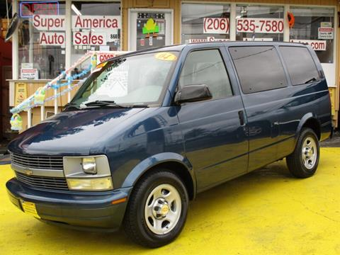 2004 Chevrolet Astro for sale in Seattle, WA