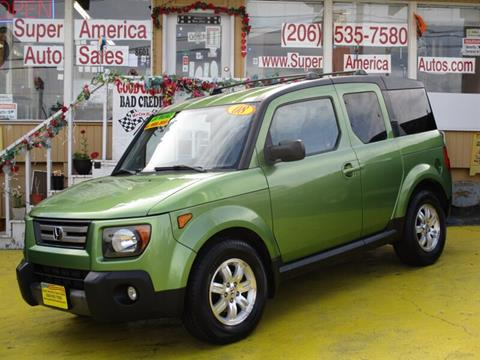 2008 Honda Element for sale in Seattle, WA