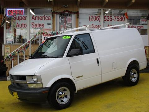 2002 Chevrolet Astro Cargo for sale in Seattle, WA