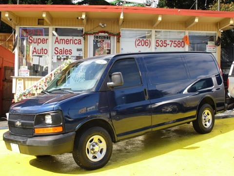 2004 Chevrolet Express Cargo for sale in Seattle, WA