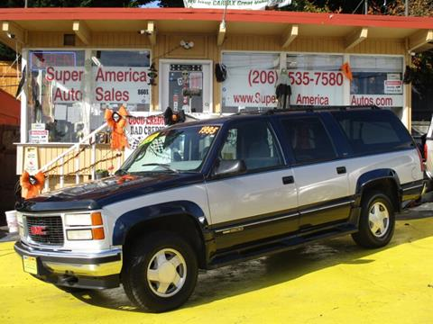 1995 GMC Suburban for sale in Seattle, WA