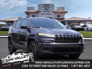 2016 Jeep Cherokee for sale in Simi Valley, CA