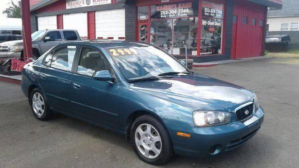 2002 Hyundai Elantra GLS 4dr Sedan   Tacoma WA