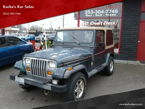 1993 Jeep Wrangler for sale in Tacoma, WA