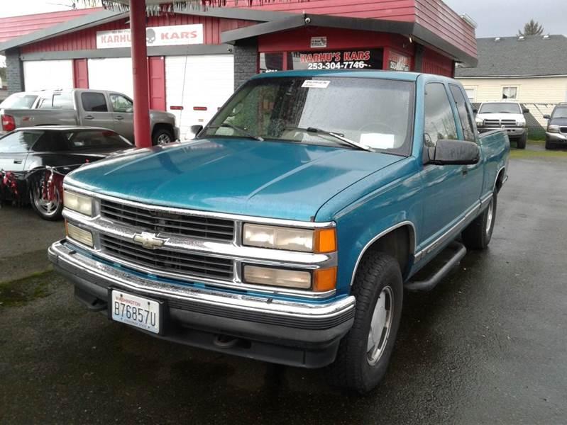 1996 Chevrolet C K 1500 Series 2dr K1500 Cheyenne 4wd