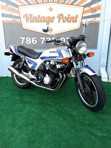 1982 Honda CB900F for sale at Vintage Point Corp in Miami FL
