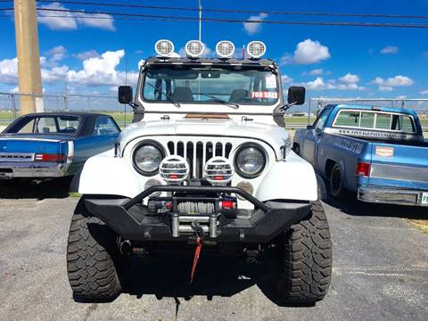 1979 Jeep CJ-5 for sale at Vintage Point Corp in Miami FL