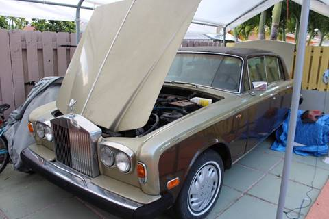 1974 Rolls-Royce Silver Shadow for sale at Vintage Point Corp in Miami FL