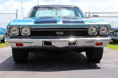 1968 Chevrolet El Camino for sale at Vintage Point Corp in Miami FL