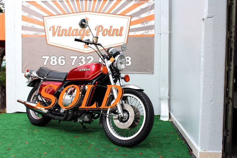 1975 Honda GL1000 for sale at Vintage Point Corp in Miami FL