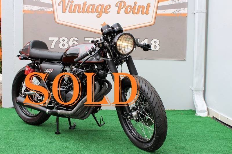 1974 Honda CB350F for sale at Vintage Point Corp in Miami FL