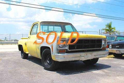 1977 GMC Sierra 1500HD Classic for sale at Vintage Point Corp in Miami FL