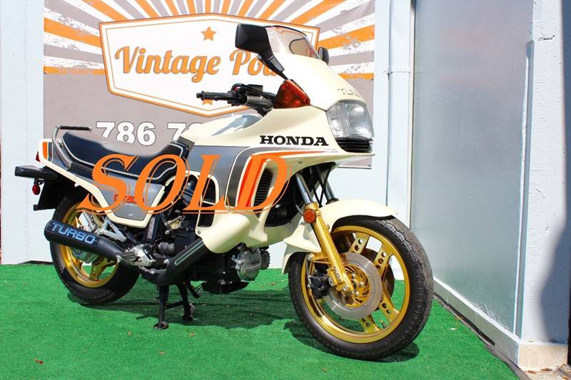 1982 Honda CX500 TURBO for sale at Vintage Point Corp in Miami FL