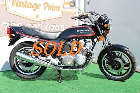 1980 Honda CB750F SUPERSPORT for sale at Vintage Point Corp in Miami FL