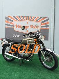 1973 Honda CB350F for sale at Vintage Point Corp in Miami FL