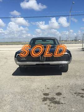 1968 Mercury Cougar for sale at Vintage Point Corp in Miami FL