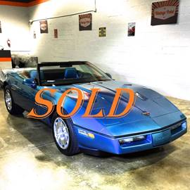 1987 Chevrolet Corvette for sale at Vintage Point Corp in Miami FL