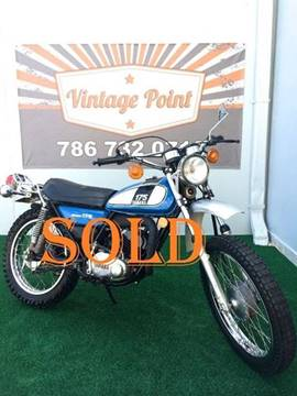 1975 Yamaha DT175 for sale at Vintage Point Corp in Miami FL