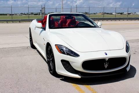 2014 Maserati GranTurismo for sale at Vintage Point Corp in Miami FL