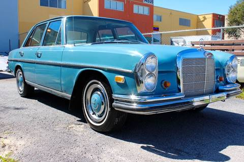 1968 Mercedes-Benz 250S for sale at Vintage Point Corp in Miami FL