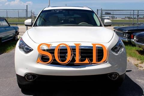 2013 Infiniti FX37 for sale at Vintage Point Corp in Miami FL