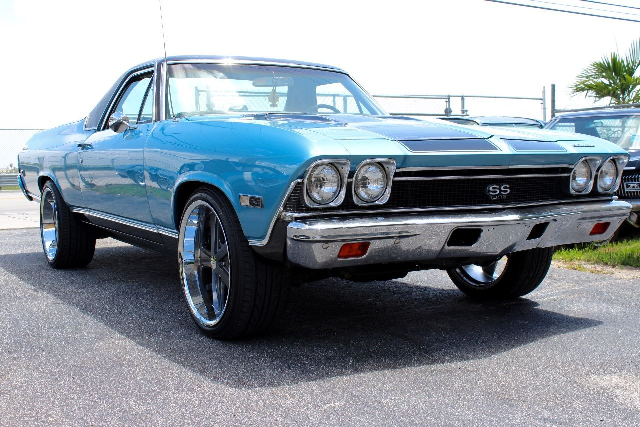 1968 Chevrolet El Camino Ss 396 In Miami Fl Vintage Point Corp Contact
