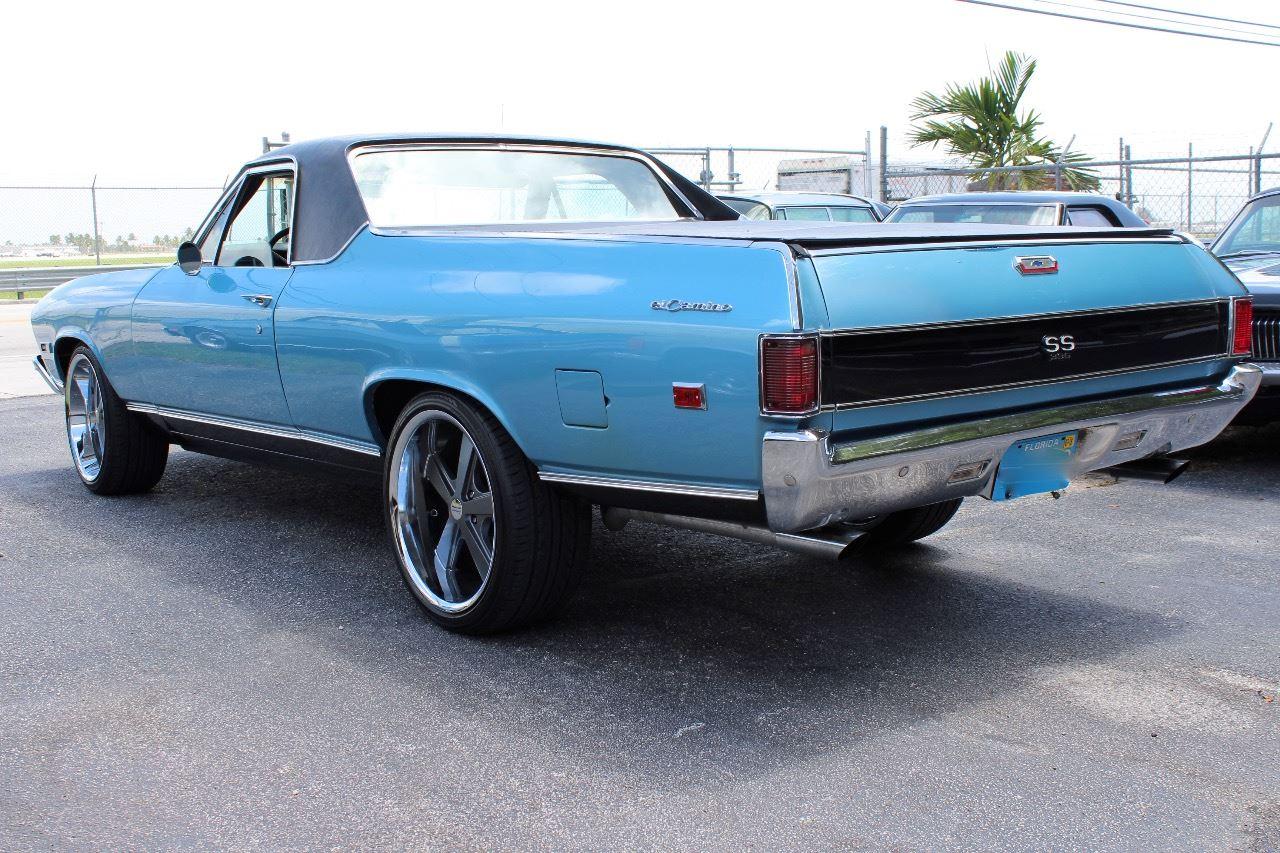 1968 Chevrolet El Camino Ss 396 In Miami Fl Vintage Point Corp Contact