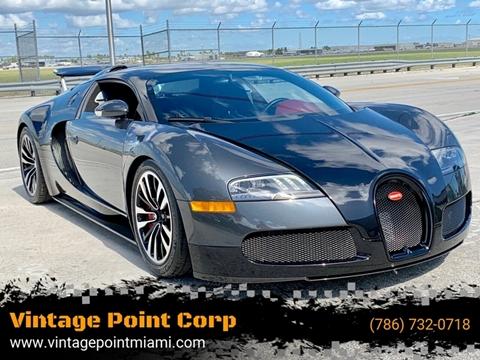 2010 Bugatti Veyron 16.4 for sale in Miami, FL