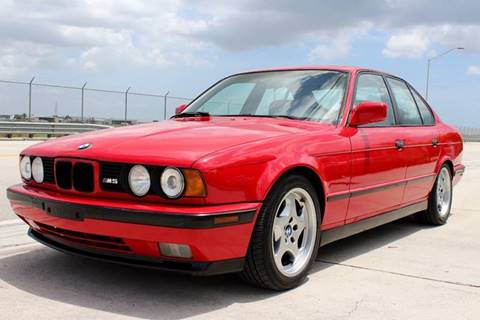 1991 BMW M5 for sale at Vintage Point Corp in Miami FL