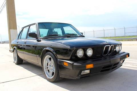 1988 BMW M5 for sale at Vintage Point Corp in Miami FL