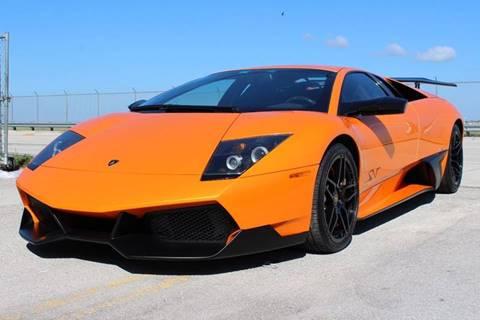 2010 Lamborghini Murcielago for sale at Vintage Point Corp in Miami FL