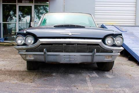 1965 Ford Thunderbird for sale at Vintage Point Corp in Miami FL