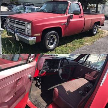 1987 Chevrolet R/V 10 Series for sale at Vintage Point Corp in Miami FL