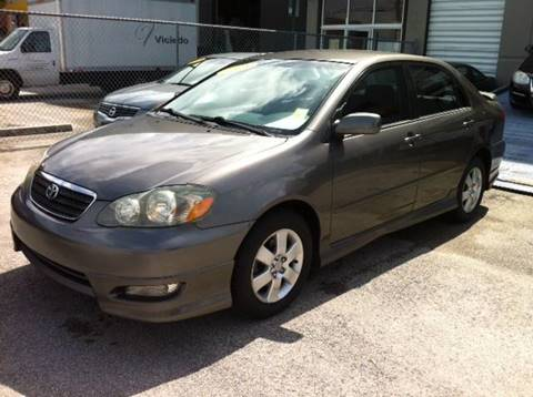 2005 Toyota Corolla for sale at Vintage Point Corp in Miami FL