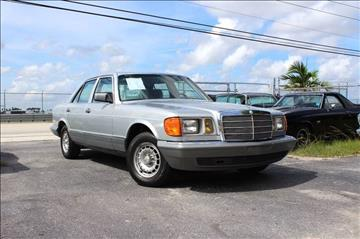 1982 Mercedes-Benz 300-Class for sale at Vintage Point Corp in Miami FL