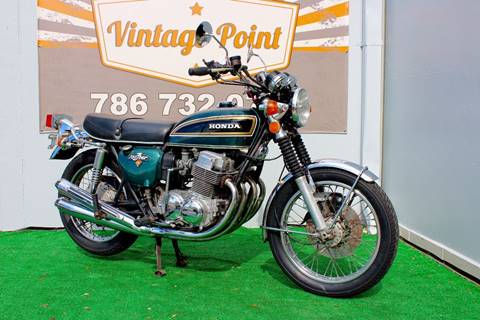 1974 Honda cb750 for sale at Vintage Point Corp in Miami FL