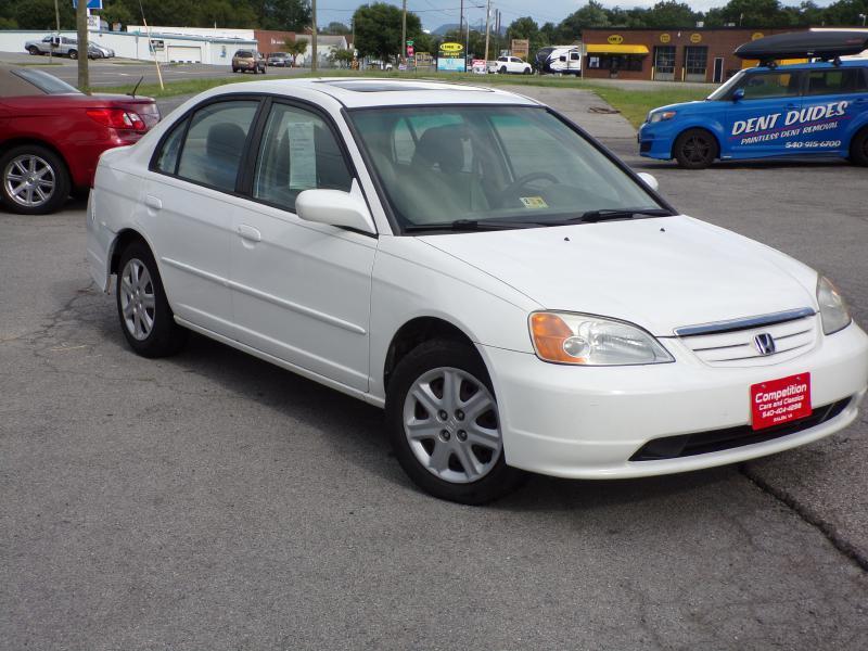 2003 Honda Civic EX In Salem VA - COMPETITION CARS & CLASSICS LLC ...